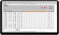 Arbeitszeitkonto im Excel Format