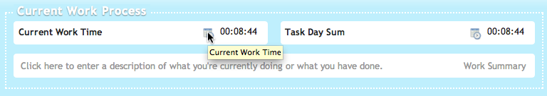 Change start time of current active work