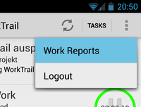 Opening Work Reports